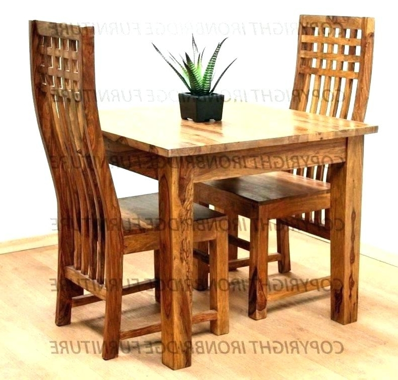 Dining Tables For Two For Most Recent Decoration: Small Dining Tables For 2 Two Table And Chair Very (Gallery 12 of 20)