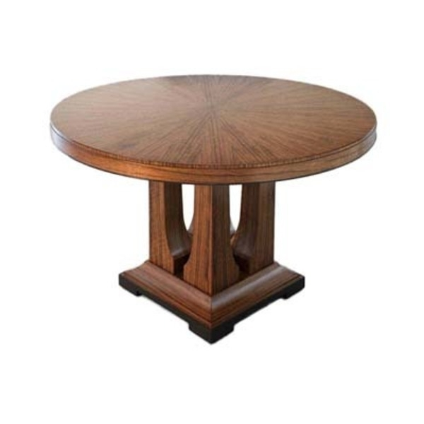 Dining Tables – Laurent Dining Table – Round : Donghia : Pro Throughout Fashionable Laurent Round Dining Tables (View 4 of 20)