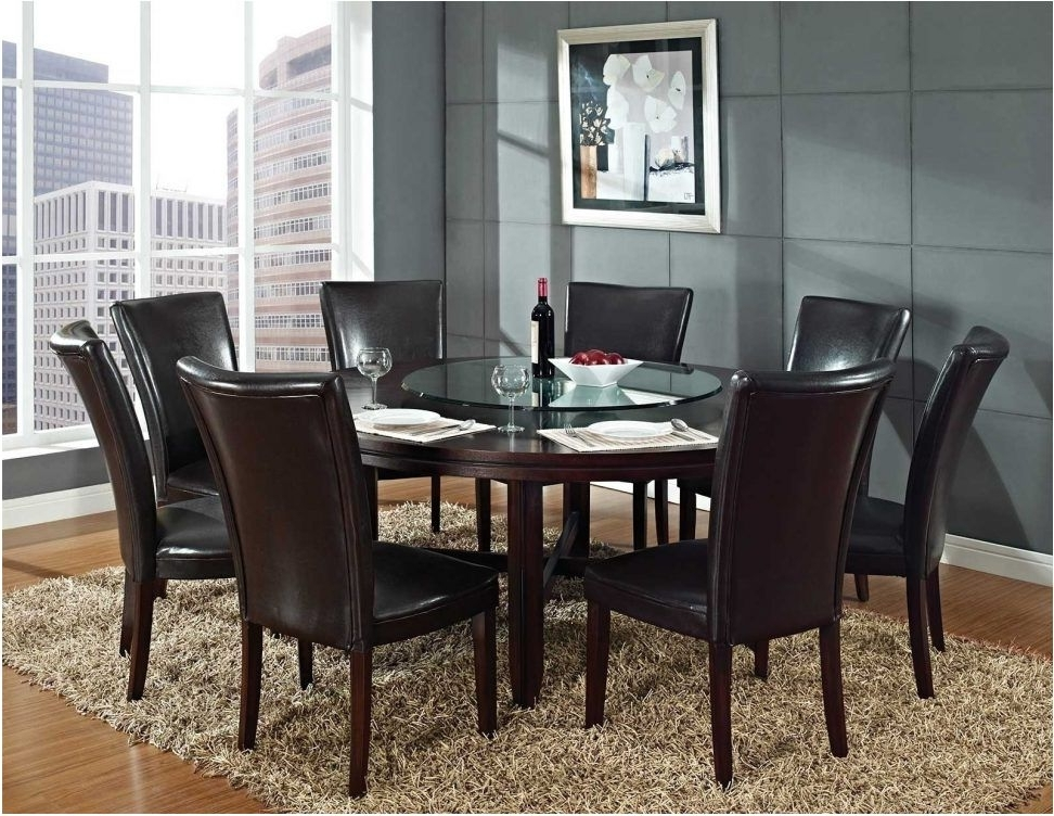 Dining Tables Seats 8 Within Famous Astonishing Round Dining Table Seats 8 Modern Tables Room Intended (View 1 of 20)