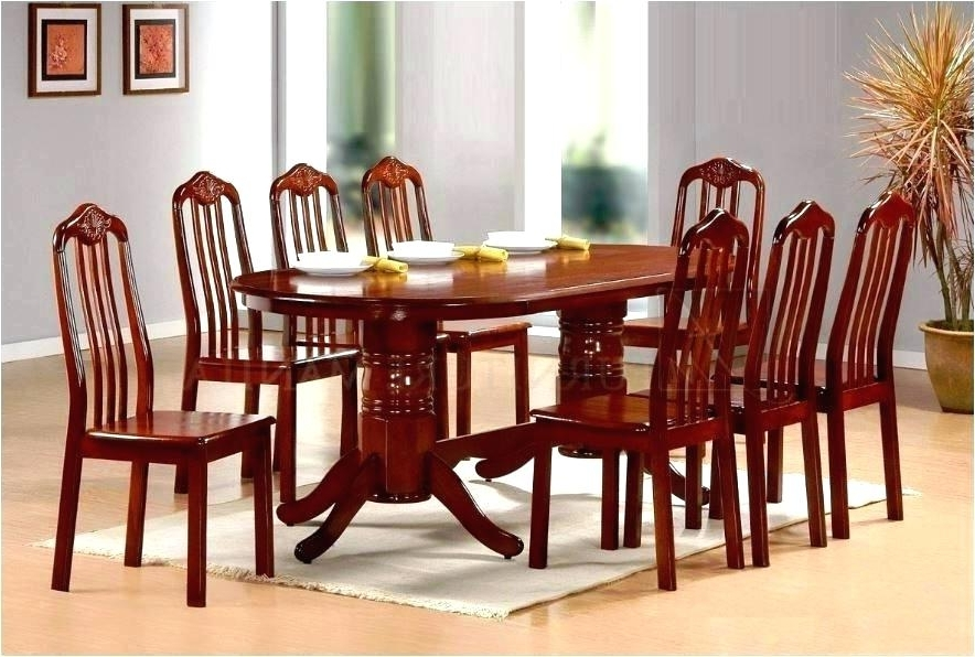 Dining Tables Set For 8 With Regard To 2018 Dining Room Sets For 8 Dining Room Tables For 8 Dining Room Sets For (Gallery 18 of 20)