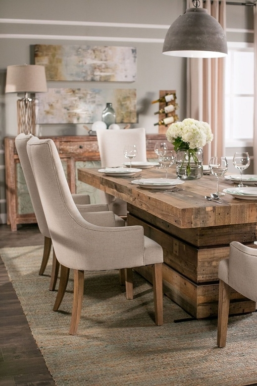 Dining Tables: Stunning Living Spaces Dining Table Set Mathis Pertaining To Most Popular Macie Round Dining Tables (Gallery 18 of 20)