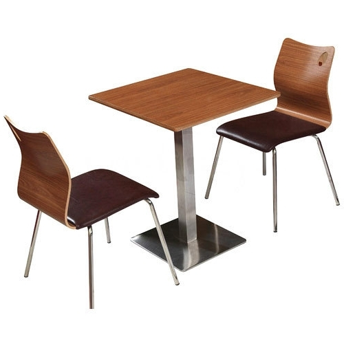 Dining Tables With 2 Seater Pertaining To Favorite 2 Seater Restaurant Dining Table At Rs 11999 /unit (Gallery 5 of 20)