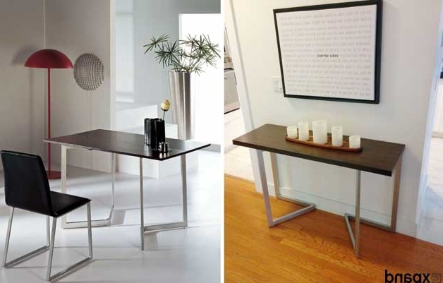 Dining Tables With Fold Away Chairs Intended For Most Recently Released Furniture For Small Spaces (View 7 of 20)