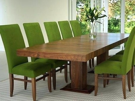 Dining Tables With Large Legs Pertaining To Best And Newest Round Table Furniture Brisbane Best Bed Frame Complyiskco Long Wood (View 4 of 20)