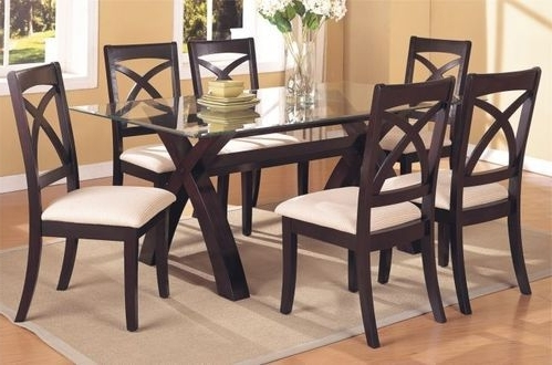 Dining Tables – Wooden Dining Sets Service Provider From Mumbai For Recent Wooden Glass Dining Tables (Gallery 5 of 20)