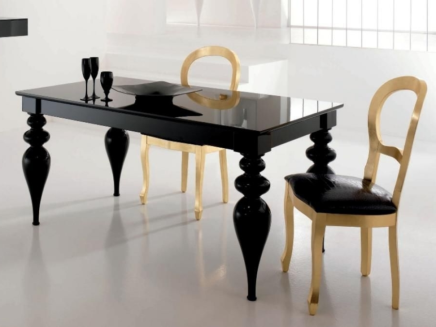 Dinner Is Served Throughout Most Current Black Gloss Dining Furniture (View 12 of 20)