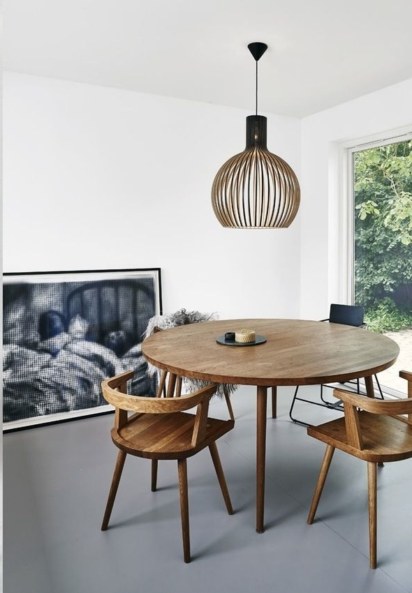 Dinner Parties, Round With Regard To Famous Lassen Round Dining Tables (View 9 of 20)