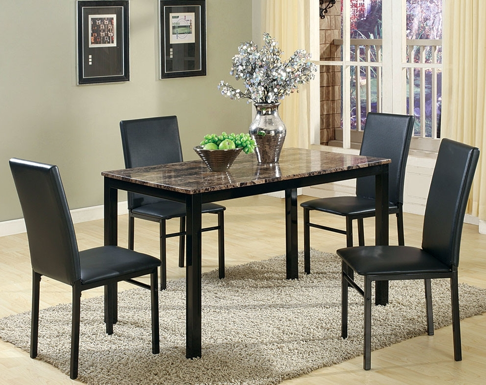 Discount Dining Room Sets & Kitchen Tables (Gallery 18 of 20)