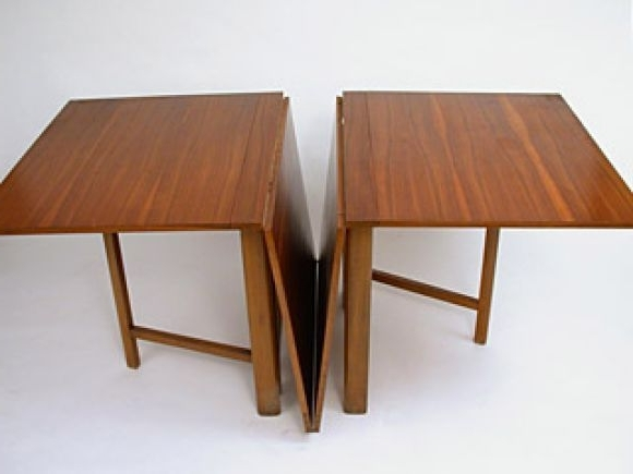 Drop Leaf Extendable Dining Tables Throughout Latest Maria Drop Leaf Teak Dining Tablebruno Mathsson In (View 2 of 20)