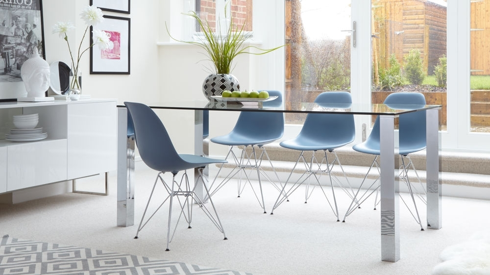 Eames Wire Frame Dining Set Uk (Gallery 13 of 20)