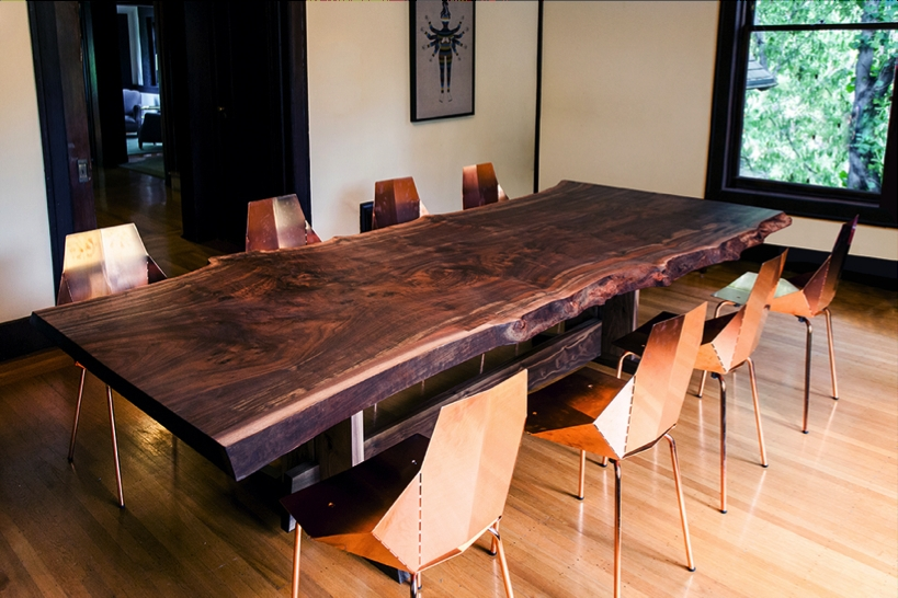 Edmonton Dining Tables Pertaining To Trendy Natural Wood Live Edge Table (Gallery 13 of 20)