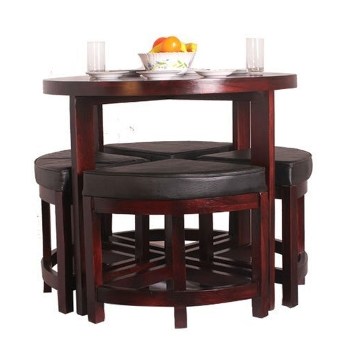 Eleganzze Compact Dining Table Set, Rs 19000 /set, Shreeji With Most Recently Released Compact Dining Room Sets (View 5 of 20)