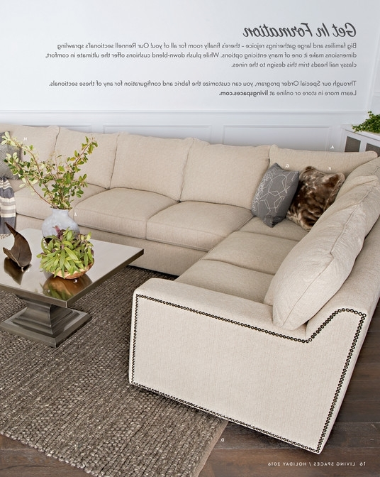 Elm Grande Ii 2 Piece Sectionals Throughout Trendy Living Spaces – Product Catalog – Holiday 2016 – Elm Grande 2 Piece (View 3 of 15)