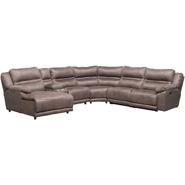 Embrace The Embodiment Of Contemporary Comfort With The Braxton 6 Pertaining To Most Recent Jackson 6 Piece Power Reclining Sectionals With Sleeper (View 5 of 15)