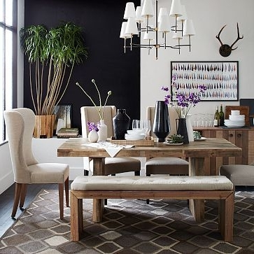 "Emmerson Dining Table, 72"", Reclaimed Pine At West Elm – Dining With Preferred Natural Wood & Recycled Elm 87 Inch Dining Tables (View 3 of 20)"