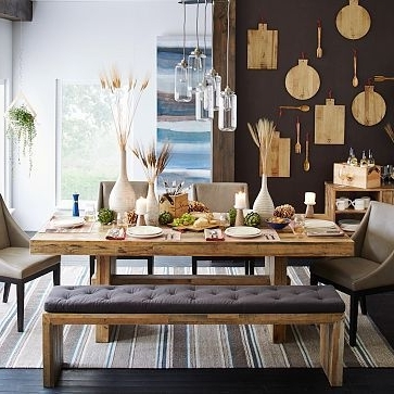 "Emmerson Dining Table, 72"", Reclaimed Pine At West Elm – Dining With Recent Natural Wood & Recycled Elm 87 Inch Dining Tables (View 4 of 20)"