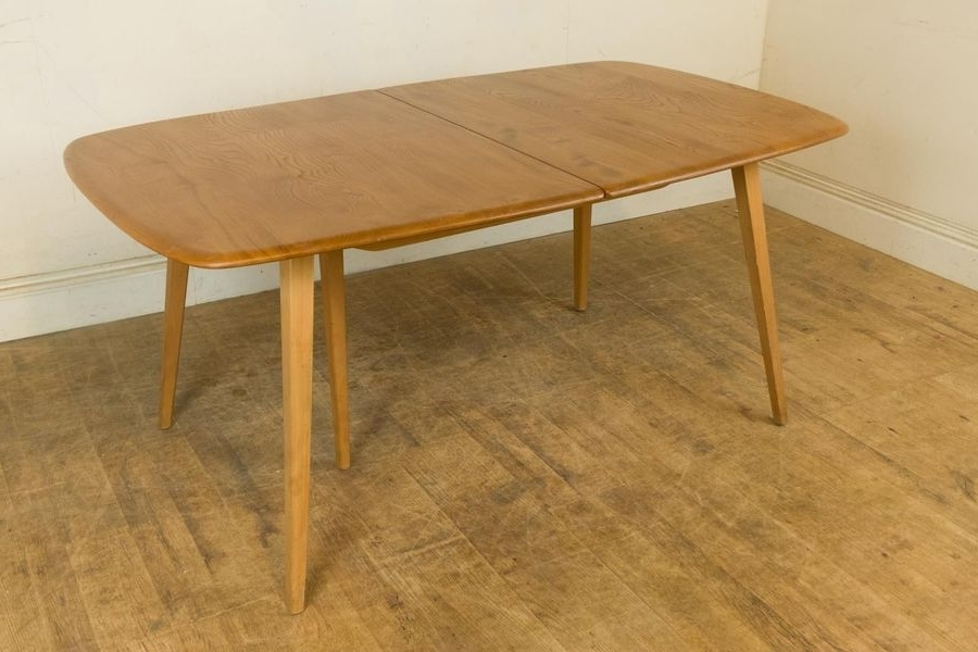 Ercol Light Elm Blond Grand Extending Dining Table (View 3 of 20)