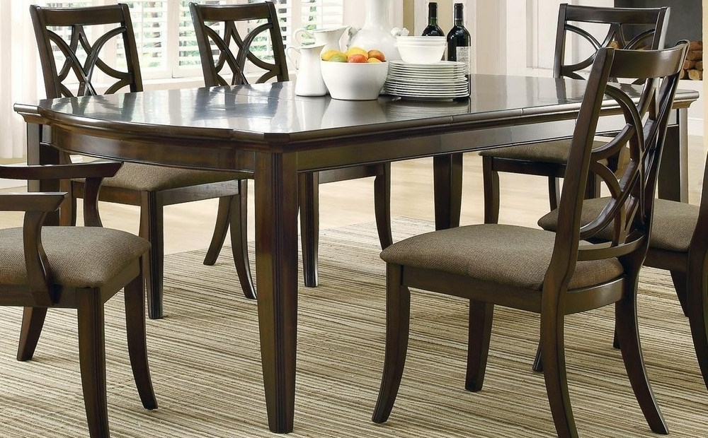 Espresso Rectangular Dining Table – Dining Tables Ideas For Recent Lindy Espresso Rectangle Dining Tables (View 2 of 20)