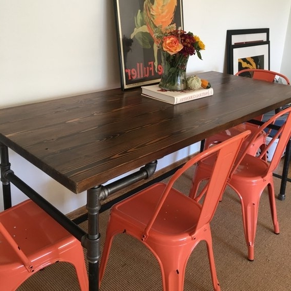 Etsy Throughout Benson Rectangle Dining Tables (Gallery 7 of 20)