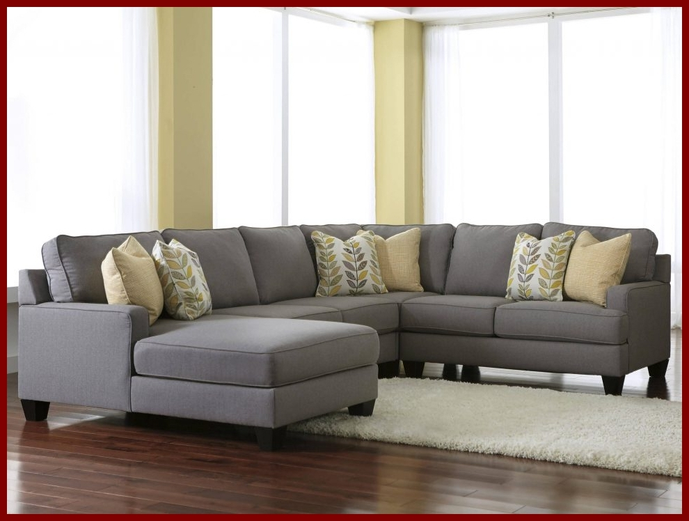 Evan 2 Piece Sectionals With Raf Chaise Throughout Most Recently Released Charcoal Grey Sectional Sofa With Chaise Lounge (View 6 of 15)