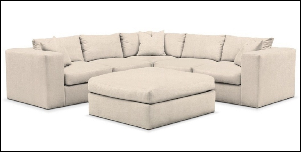Excellent White Sectional Sofa Value City Furniture Home Design Intended For Trendy Collins Sofa Sectionals With Reversible Chaise (View 13 of 15)