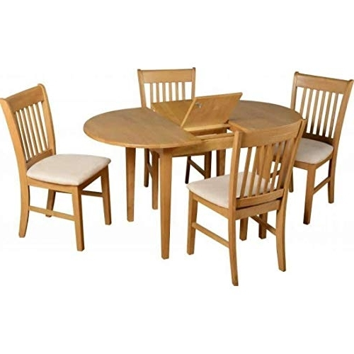 Extendable Dining Table: Amazon.co.uk Throughout Well Known Dining Extending Tables And Chairs (Gallery 18 of 20)