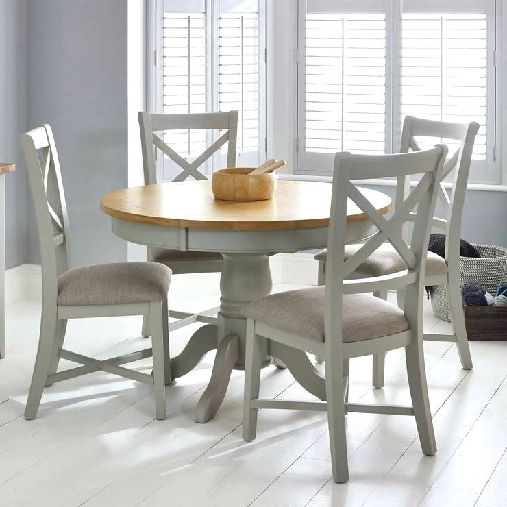 Extendable Dining Table And 4 Chairs Intended For Most Popular By Designs 4 Extendable Dining Table Set For Seater Size – Appbookbook (Gallery 15 of 20)