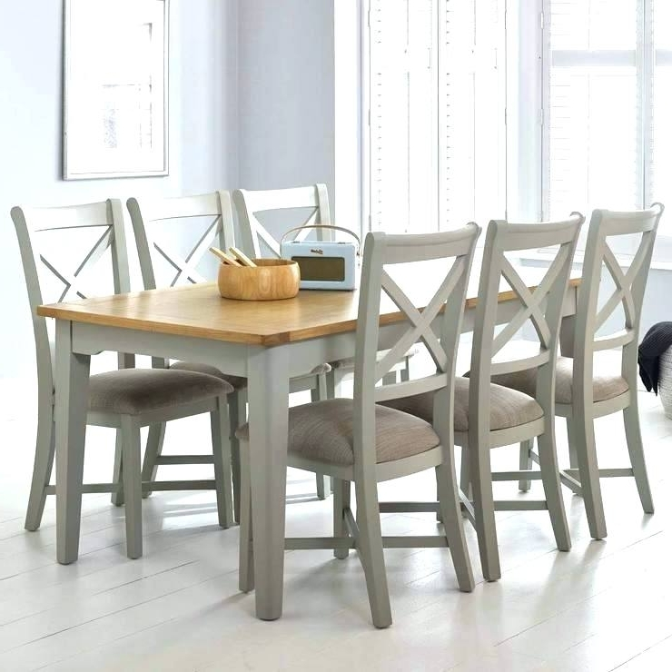 Extendable Dining Tables And 6 Chairs Regarding 2017 Dining Tables With 6 Chairs – Bcrr (Gallery 12 of 20)