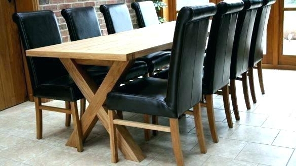 Extendable Dining Tables With 8 Seats Within Recent Extendable Dining Table Seats 8 Extending Dining Table Oak Dining (View 9 of 20)