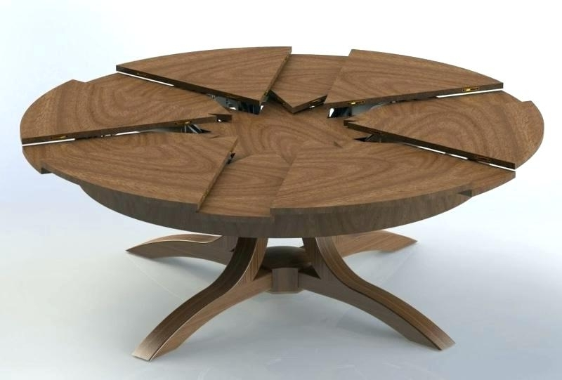 Extending Dining Room Tables – Bienmaigrir Inside Famous Small Round Extending Dining Tables (Gallery 15 of 20)