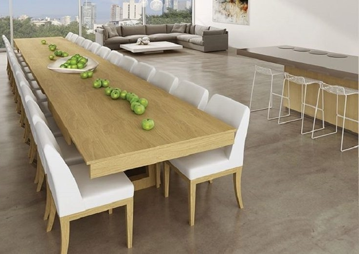Extending Dining Tables Within Widely Used Mega Extendable Dining Table – Ippinka (Gallery 16 of 20)