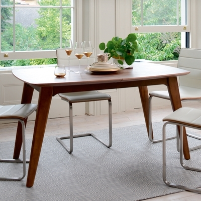 Extending Rectangular Dining Tables With Regard To Current Circa Compact Extending Rectangular 4 6 Seater Dining Table – Dwell (View 10 of 20)