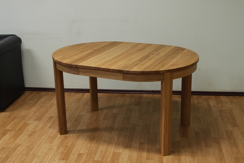 Extending Round Oval Dining Table (Gallery 14 of 20)