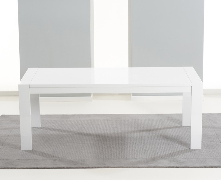 Extending White Gloss Dining Tables Inside 2018 Large White Gloss Extending Table 3 M 12 Seater (Gallery 17 of 20)