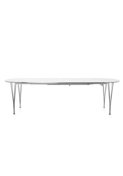 Extension Table B619, Fritz Hansen, Super Elliptical – Plus Store Pertaining To Famous Lassen Extension Rectangle Dining Tables (View 13 of 20)