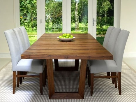 Extra Large Dining Tables. Wide Oak & Walnut Extending Dining Tables Pertaining To Latest Extending Dining Sets (Gallery 7 of 20)