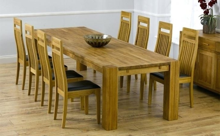 Famous 8 Seater Dining Room Table And Chairs Beautiful Box Grey Oak For In 8 Seater Dining Table Sets (View 10 of 20)
