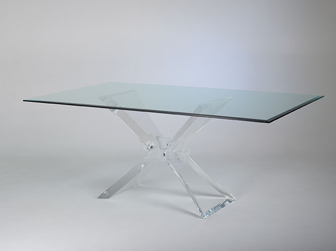 Famous Acrylic Dining Tables Inside Butterfly Acrylic Dining Table (View 10 of 20)