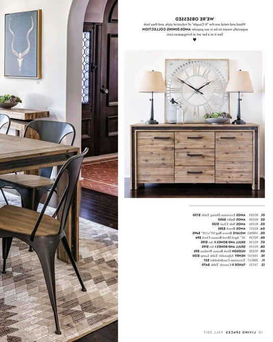 Famous Amos Extension Dining Tables Within Living Spaces – Fall 2017 – Amos Extension Dining Table (View 10 of 20)