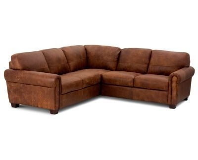 Famous Calder Grey 6 Piece Manual Reclining Sectionals Throughout Axis Ii Leather 3 Piece Sectional Sofa (View 8 of 15)
