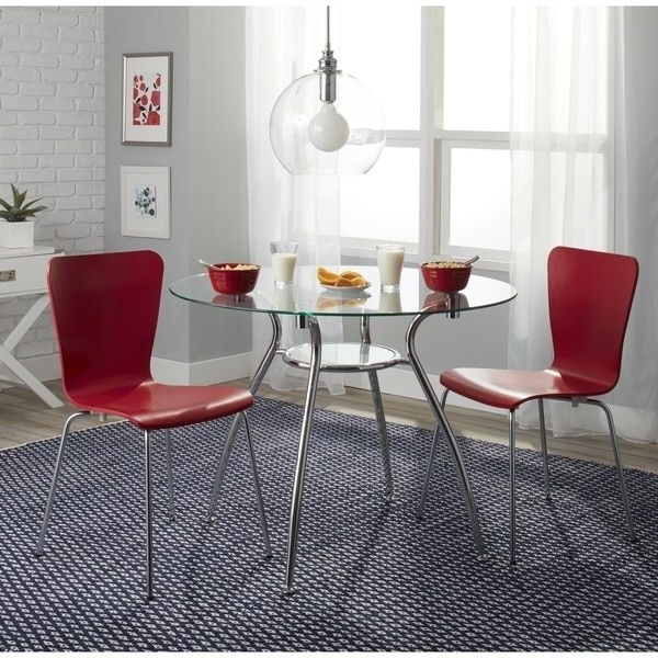 Famous Carly 3 Piece Triangle Dining Sets With Regard To 7 Best Kitchen Images On Pinterest (View 9 of 20)