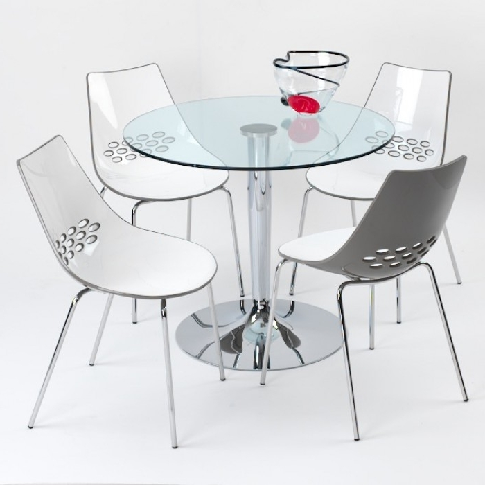 Famous Como Dining Tables Pertaining To Como Glass Dining Table (View 9 of 20)