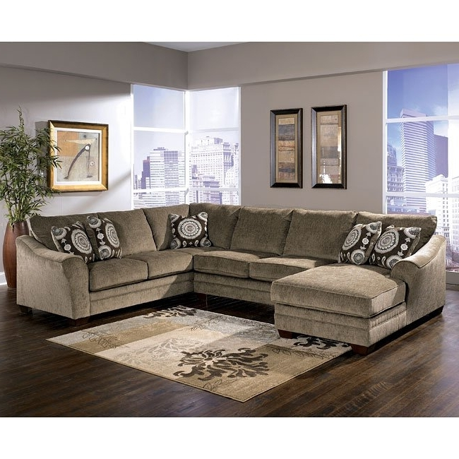 Famous Cosmos Grey 2 Piece Sectionals With Laf Chaise Within Cosmo – Marble Left Chaise Sectional Signature Designashley (View 12 of 15)