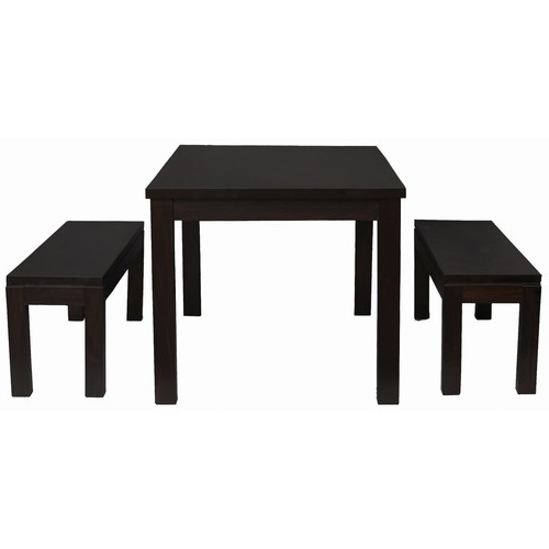 Famous Cube Dining Table 150 X 90 With 2 Bench Seats (View 9 of 20)