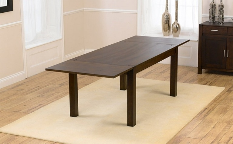 Famous Dark Wood Extending Dining Tables With Dark Wood Dining Tables (View 10 of 20)