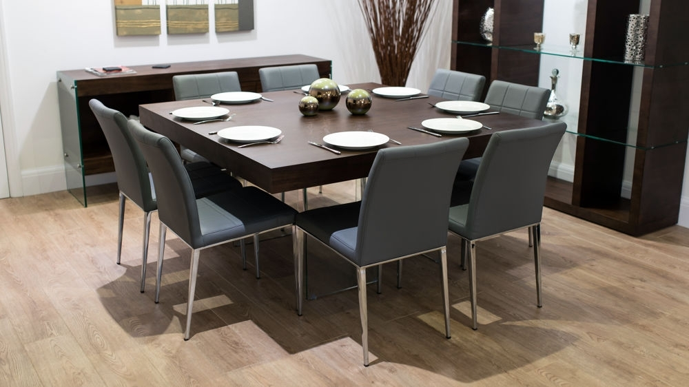 Famous Dark Wood Square Dining Tables Regarding Large Square Dark Wood Dining Table (View 9 of 20)