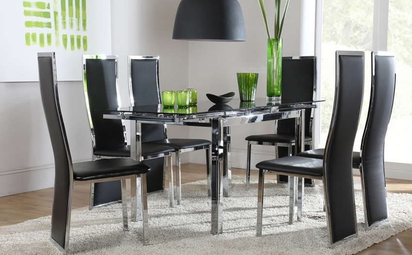 Famous Dining Room Glass Tables Sets In Dining Room: Best Glass Dining Room Sets Glass Dining Room Sets (View 16 of 20)
