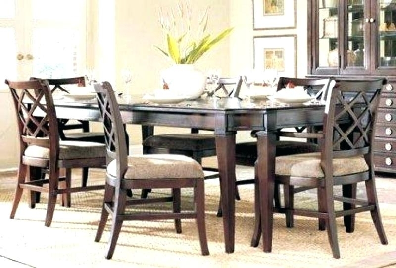 Famous Dining Tables And 6 Chairs Intended For 6 Chair Dining Table Sets – Wallof (View 11 of 20)