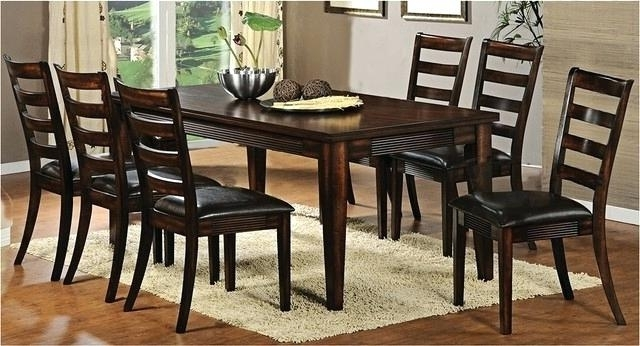 Famous Dining Tables Dark Wood Within Large Round Dark Wood Dining Table Extra Wi Home Decor Splendid (View 11 of 20)