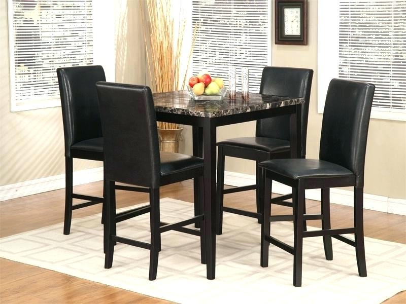Famous Hyland 5 Piece Counter Sets With Stools Intended For Bar Height Dining Room Sets Best High Top Dining Room Sets Photos (View 16 of 20)